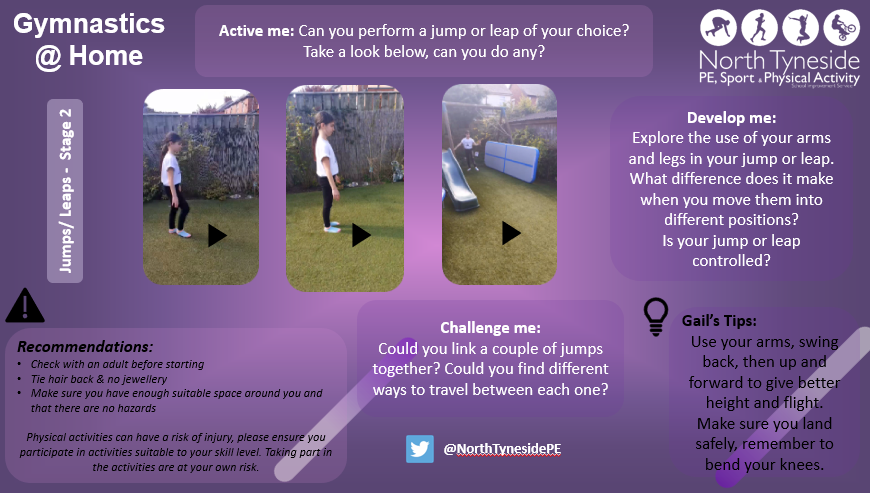 Jumps & Leaps for Key Stage 2
