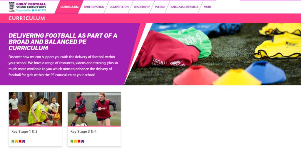 Girls Football screen shot