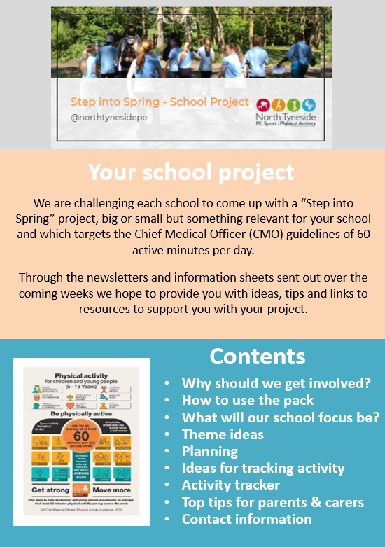 Step into Spring - School project1